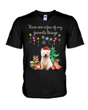 A Few of My Favorite Things - Westie V-Neck T-Shirt thumbnail