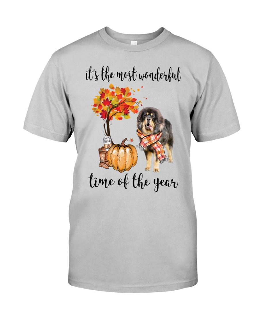 The Most Wonderful Time - Tibetan Mastiff Classic T-Shirt