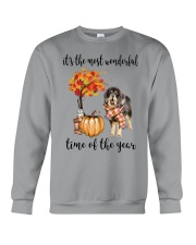 The Most Wonderful Time - Tibetan Mastiff Crewneck Sweatshirt thumbnail