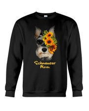 Schnauzer Mom Crewneck Sweatshirt tile