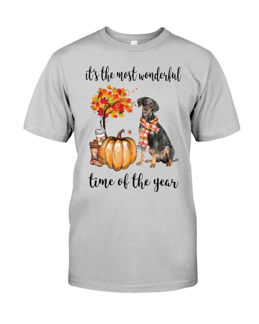 The Most Wonderful Time - German Pinscher Classic T-Shirt