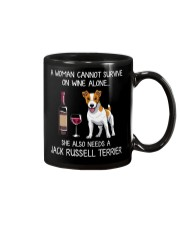 Wine and Jack Russell Mug thumbnail