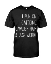 Caffeine and Cavalier Classic T-Shirt front