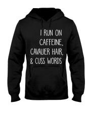 Caffeine and Cavalier Hooded Sweatshirt thumbnail