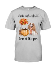 The Most Wonderful Time - Blenheim Cavalier Classic T-Shirt front