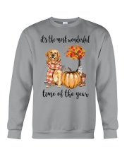 The Most Wonderful Time - Golden Retriever Crewneck Sweatshirt thumbnail