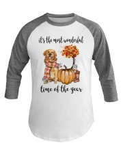 The Most Wonderful Time - Golden Retriever Baseball Tee thumbnail