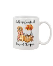 The Most Wonderful Time - Golden Retriever Mug thumbnail