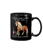 Wine and Haflinger Mug thumbnail