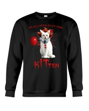 We All Meow Down Here Crewneck Sweatshirt thumbnail