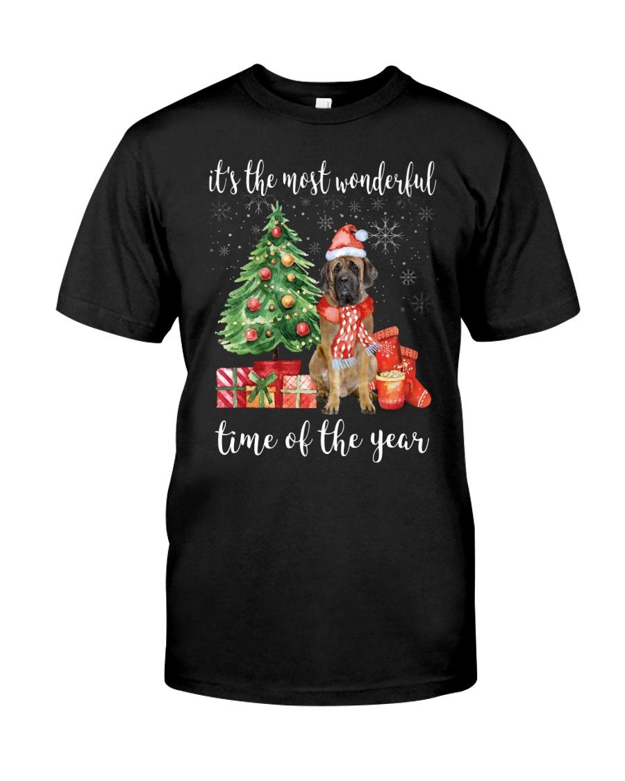 The Most Wonderful Xmas - English Mastiff Classic T-Shirt