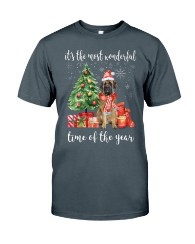 The Most Wonderful Xmas - English Mastiff