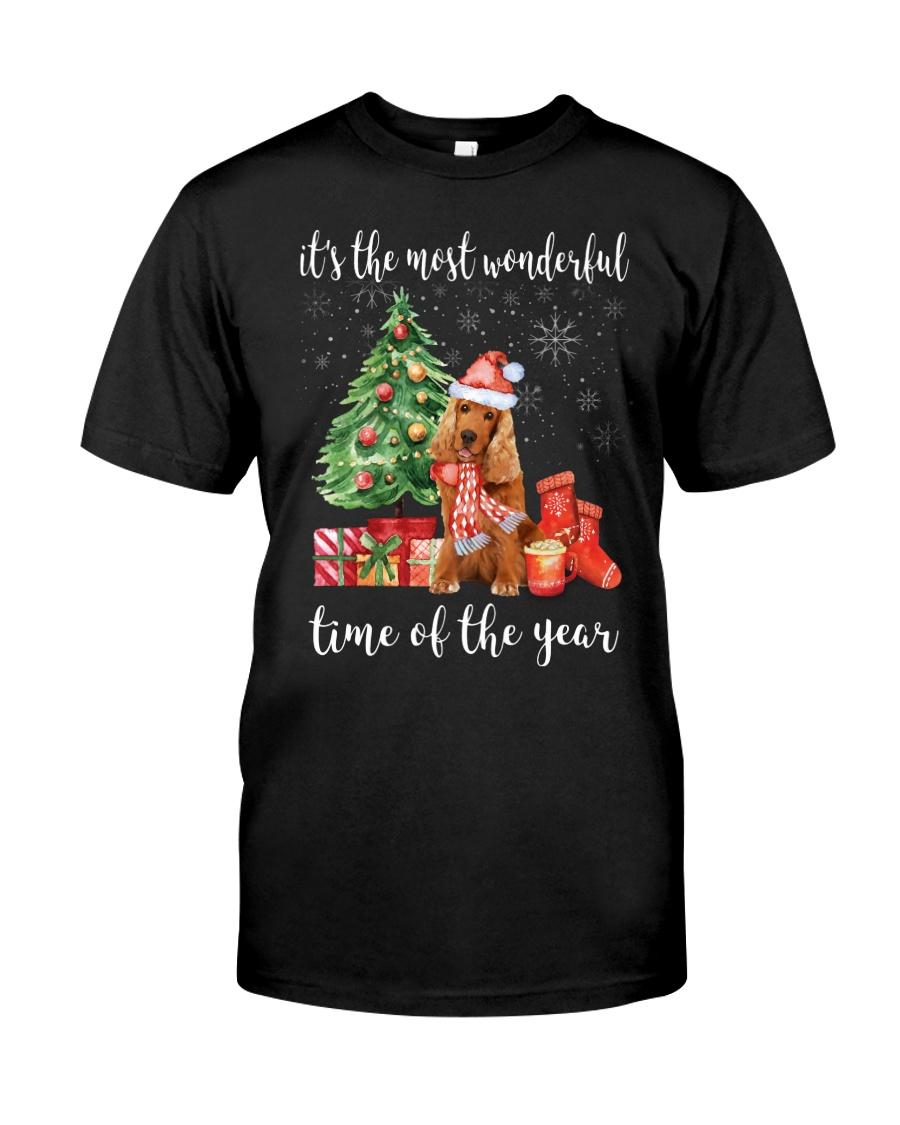 The Most Wonderful Xmas - Cocker Spaniel Classic T-Shirt