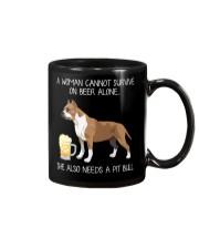 Beer and Pit Bull Mug thumbnail
