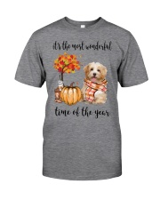 The Most Wonderful Time - Havanese Classic T-Shirt tile