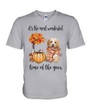 The Most Wonderful Time - Havanese V-Neck T-Shirt thumbnail