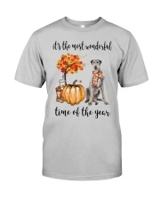 The Most Wonderful Time - Irish Wolfhound Classic T-Shirt front