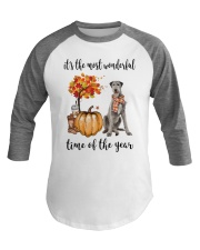 The Most Wonderful Time - Irish Wolfhound Baseball Tee thumbnail