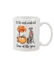 The Most Wonderful Time - Irish Wolfhound Mug thumbnail
