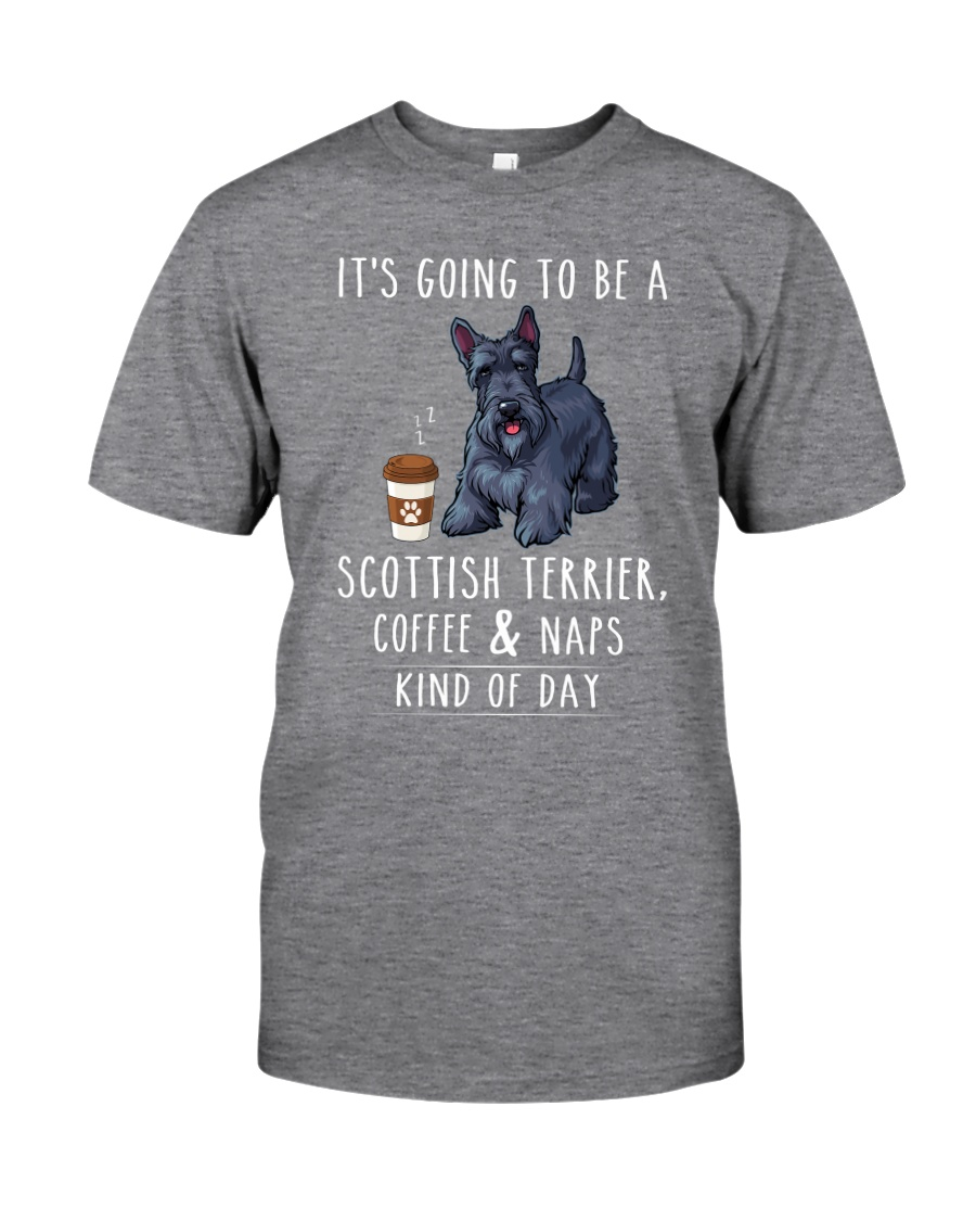 Scottish Terrier Coffee and Naps Classic T-Shirt