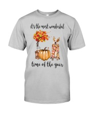 The Most Wonderful Time Red Australian Cattle Dog Classic T-Shirt thumbnail