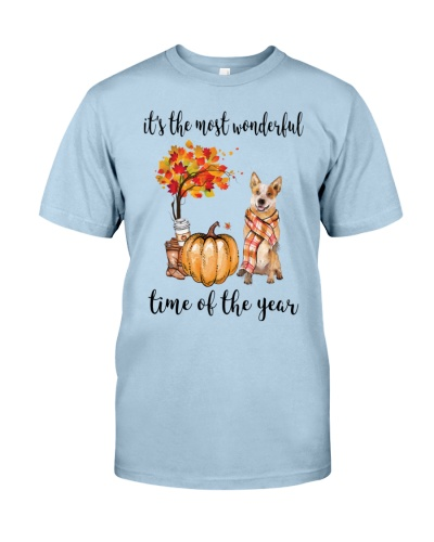 The Most Wonderful Time Red Australian Cattle Dog