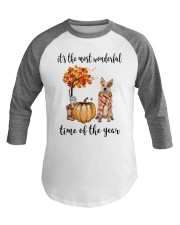 The Most Wonderful Time Red Australian Cattle Dog Baseball Tee tile