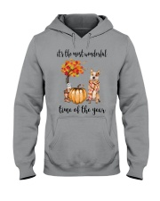 The Most Wonderful Time Red Australian Cattle Dog Hooded Sweatshirt tile