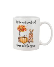 The Most Wonderful Time Red Australian Cattle Dog Mug tile