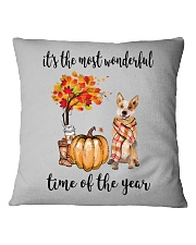 The Most Wonderful Time Red Australian Cattle Dog Square Pillowcase thumbnail