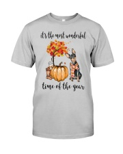 The Most Wonderful Time - Miniature Pinscher Classic T-Shirt front