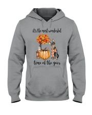 The Most Wonderful Time - Miniature Pinscher Hooded Sweatshirt thumbnail