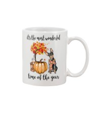 The Most Wonderful Time - Miniature Pinscher Mug tile