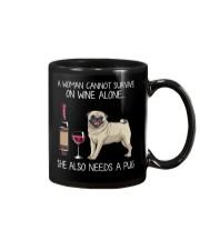 Wine and Pug 3 Mug thumbnail