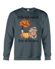 The Most Wonderful Time - Sloth  Crewneck Sweatshirt thumbnail