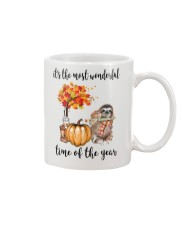 The Most Wonderful Time - Sloth  Mug thumbnail