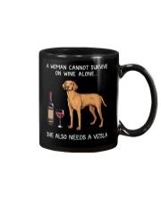 Wine and Vizsla Mug thumbnail