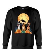 Howloween Staffordshire Bull Terrier Crewneck Sweatshirt thumbnail