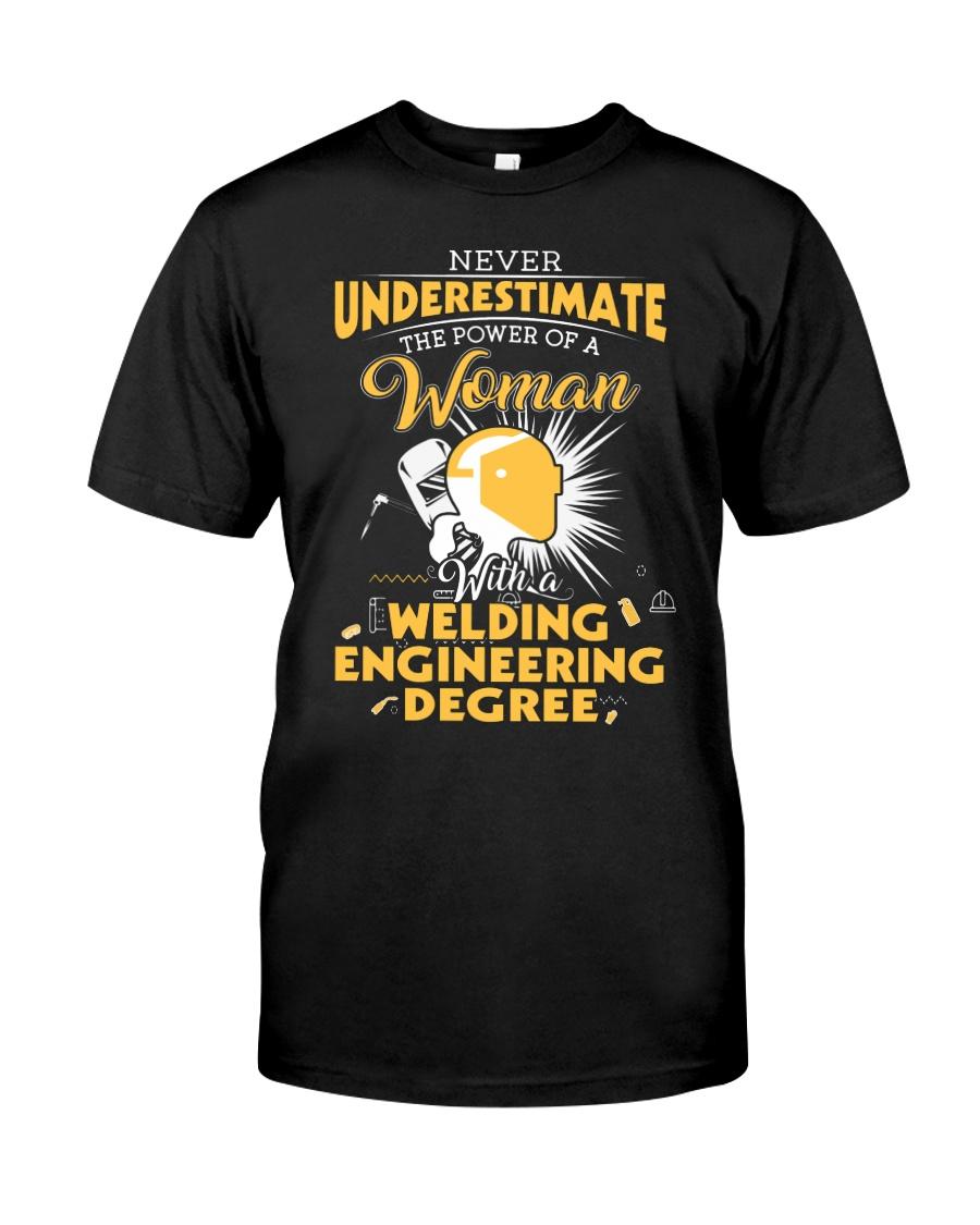 Welding Engineering Woman Classic T-Shirt