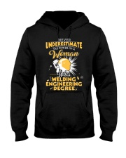 Welding Engineering Woman Hooded Sweatshirt thumbnail