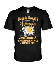 Welding Engineering Woman V-Neck T-Shirt thumbnail