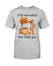 The Most Wonderful Time - Airedale Terrier Classic T-Shirt front