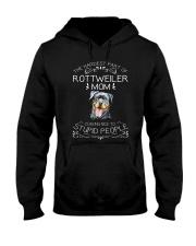 The Hardest Part of Rottweiler Mom Hooded Sweatshirt thumbnail