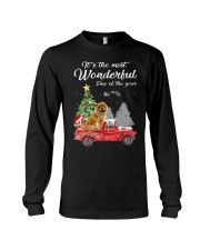 Wonderful Christmas with Truck - Chow Chow Long Sleeve Tee thumbnail