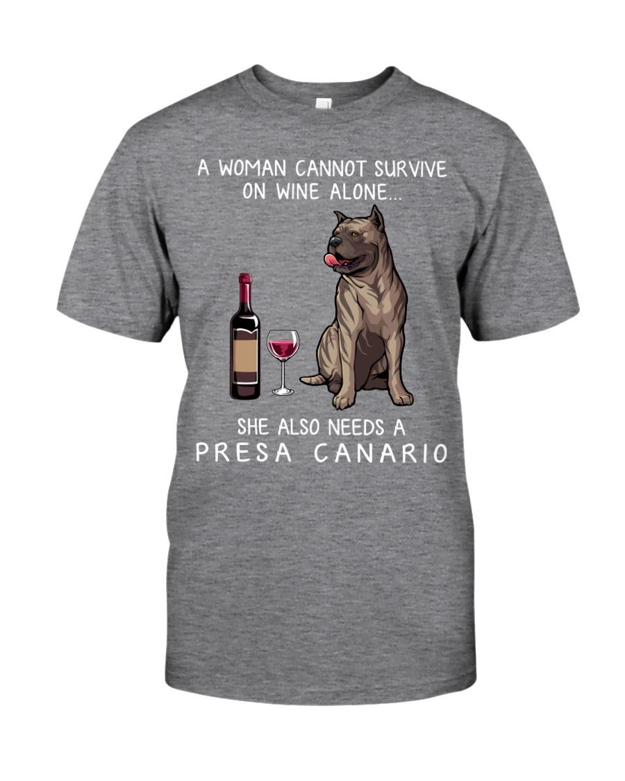 Wine and Presa Canario Classic T-Shirt