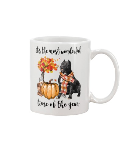The Most Wonderful Time - Black Pit Bull