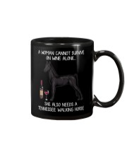 Wine and Tennessee Walking Horse Mug thumbnail