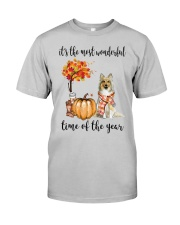 The Most Wonderful Time - Sheltie Classic T-Shirt front