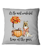 The Most Wonderful Time - Sheltie Square Pillowcase thumbnail