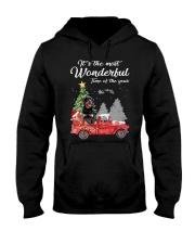 Wonderful Christmas with Truck - Rottweiler Hooded Sweatshirt thumbnail